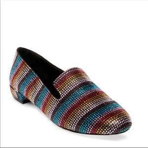 Steve Madden Smile Rainbow Multi Color Loafers 8
